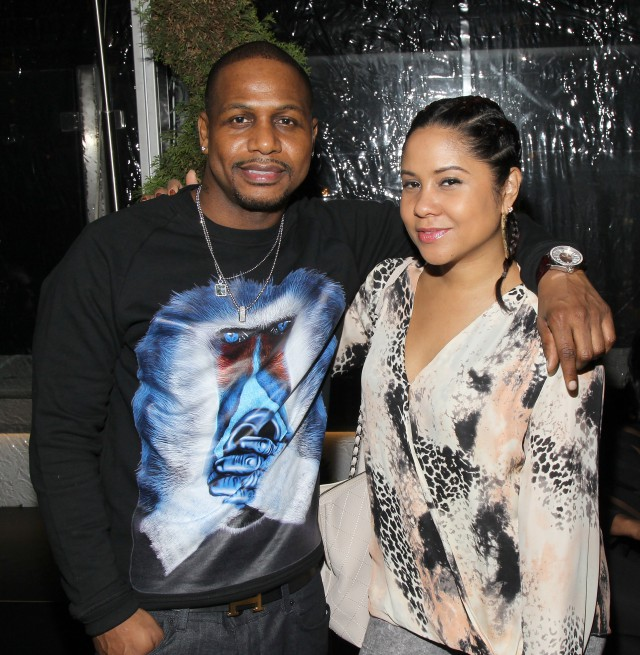 """""""NEW YORK, NY - MARCH 08:Recording artist AZ and radio personality Angela Yee attend the #BLX season 2 screening event at The Monarch Rooftop Lounge on March 8, 2016 in New York City. (Photo by Bennett Raglin/BET/Getty Images for BET Networks)"""""""