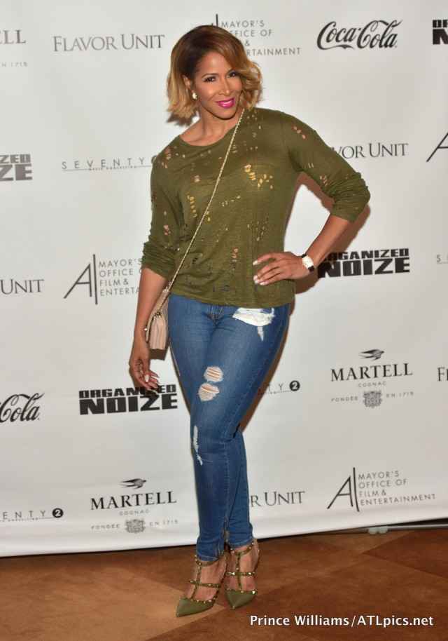 """Sheree Whitfield Organized Noize """"Art Of Noize"""" screening at SCAD Show"""