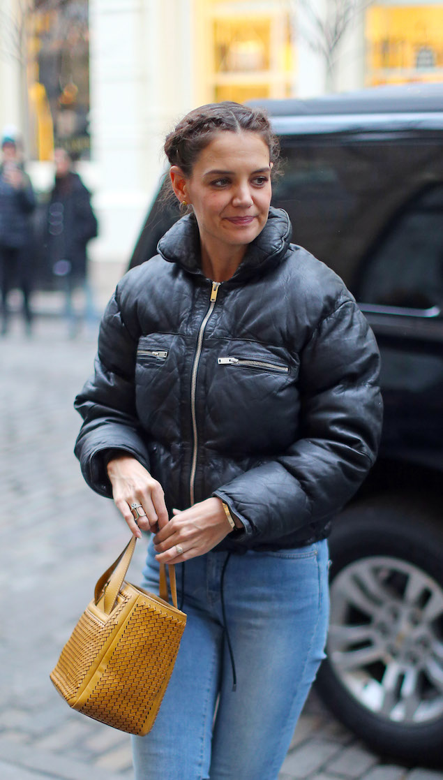 Katie Holmes Spotted Out And About In Soho