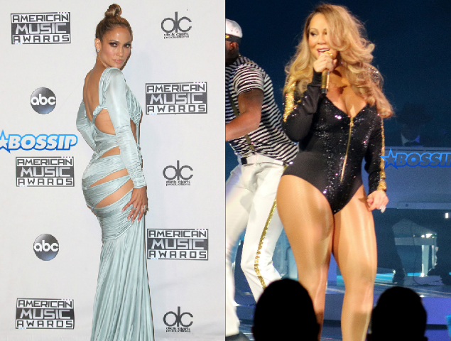 Mariah Carey Jennifer Lopez