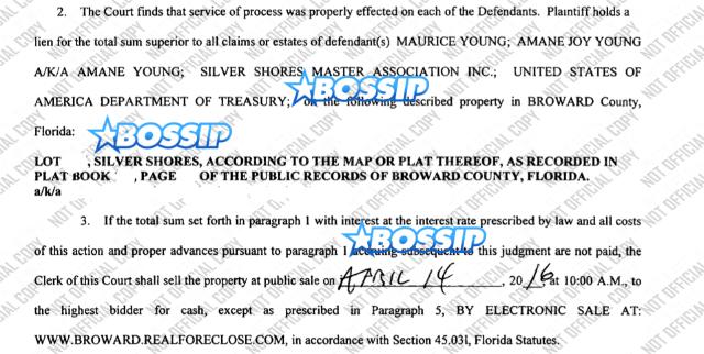 Trick Daddy Foreclosure breakdown 2