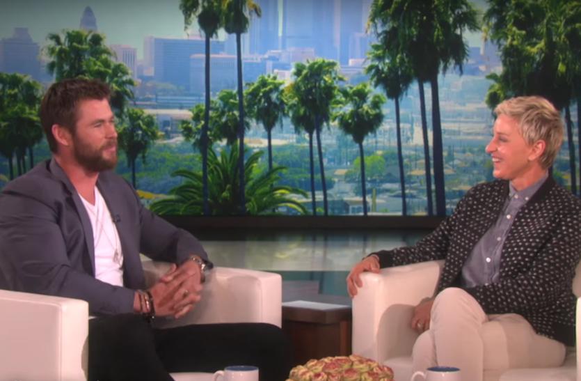 Chris Hemsworth's daughter wants a penis
