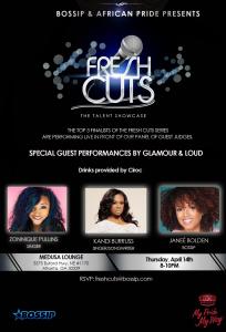 Fresh Cuts Showcase Flyer
