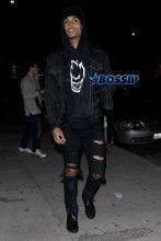Kendall Jenner and Jordan Clarkson Uber to Nice Guy AKM-GSI