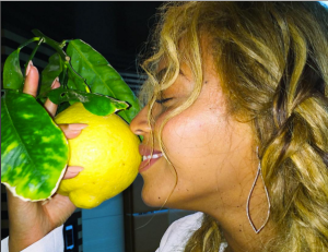Beyonce lemon lemonade Instagram