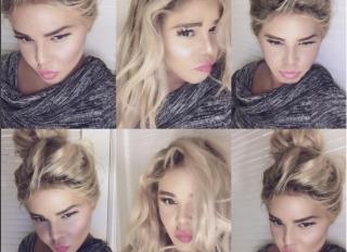 Lil Kim bleach blonde