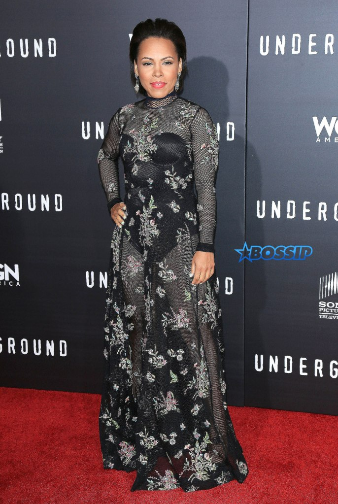 """Celebrities attending the """"Underground"""" Los Angeles Premiere held at The Theatre At The Ace Hotel in Los Angeles, California. Pictured: Amirah Vann Ref: SPL1240428 020316 Picture by: AdMedia / Splash News Splash News and Pictures Los Angeles:310-821-2666 New York:212-619-2666 London:870-934-2666 photodesk@splashnews.com"""