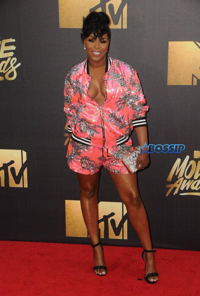 Arrivals for the 2016 MTV Movie Awards held at Warner Bros. Studios in Burbank Pictured: Ta'Rhonda Jones Ref: SPL1260840 090416 Picture by: AdMedia / Splash News Splash News and Pictures Los Angeles:310-821-2666 New York:212-619-2666 London:870-934-2666 photodesk@splashnews.com