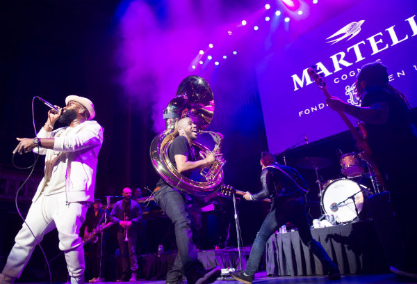 The Roots perform at the Martell Cognac Vanguard Experience concert at The Tabernacle on April 9 2016 in Atlanta Georgia