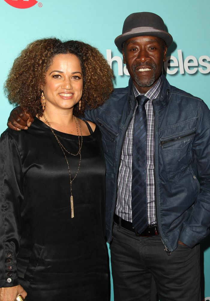 Showtime New Seasons: Shameless, House of Lies, Episodes Featuring: Bridgid Coulter, Don Cheadle Where: Los Angeles, California, United States When: 05 Jan 2015 Credit: FayesVision/WENN.com