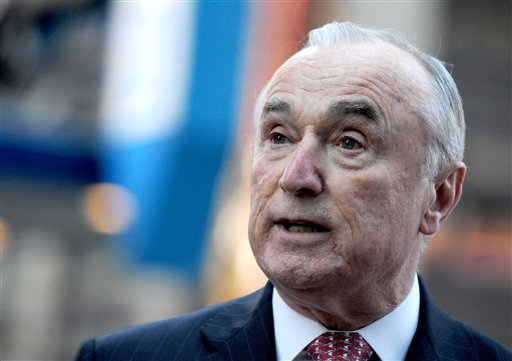 New York Police Commissioner William Bratton speaks to the media in New York City, NY, USA, March 22, 2016, following a series of bombings claimed by the Islamic State group in Brussels, Belgium. Airports across Europe swiftly boosted security, while across the Atlantic, New York and Washington ordered security personnel to key areas. Photo by Dennis Van Tine/Sipa USA