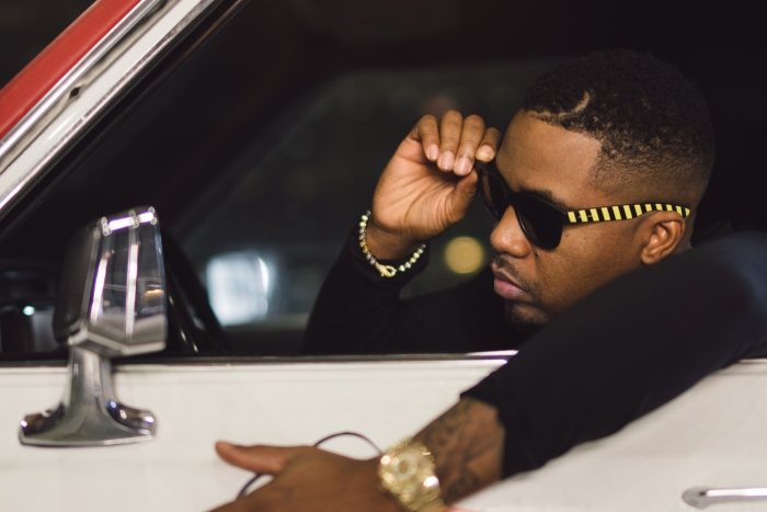 Nas wearing Italia Independent x Ghostbusters sunglasses 02