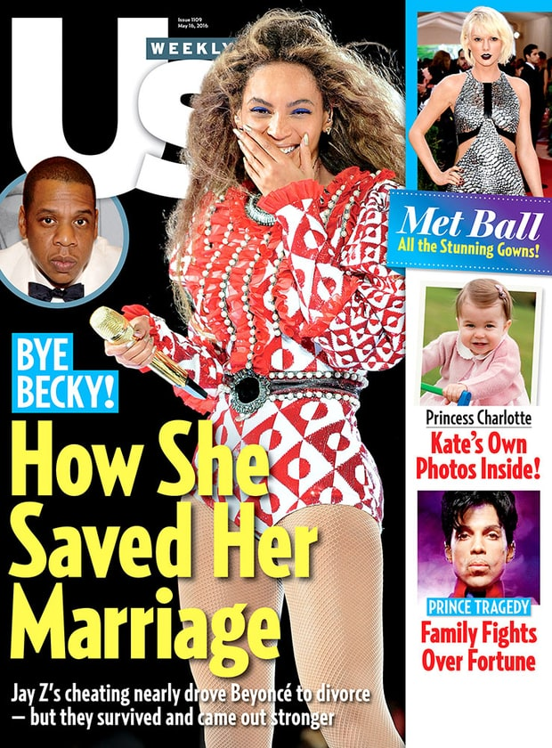 US Weekly printed a How She Saved Her Marriage Beyonce Jay Z issue, post Lemonade