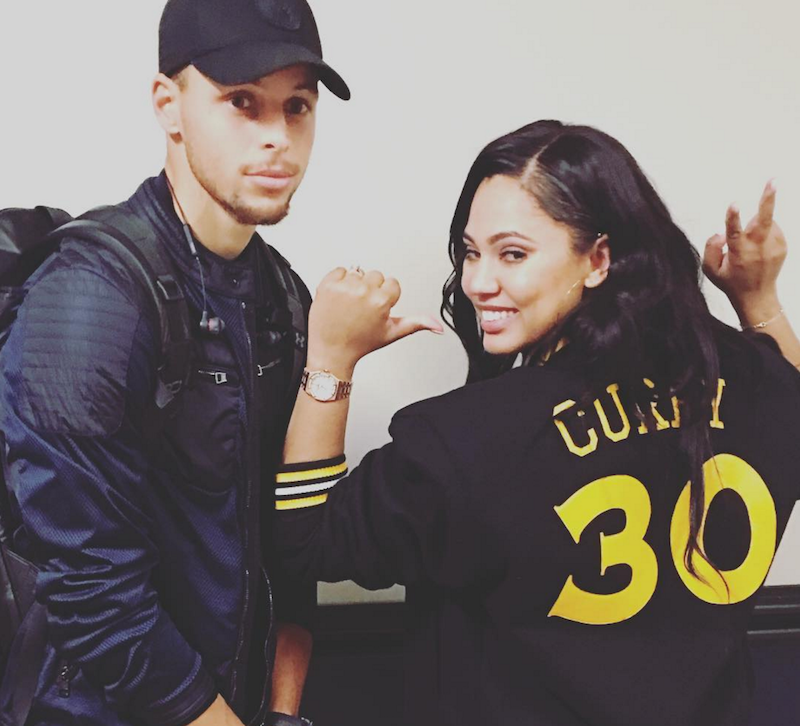 Ayesha Curry tweets about NBA rigged