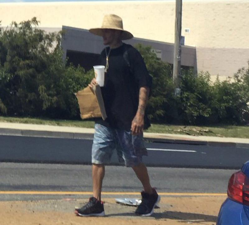 Delonte West homeless