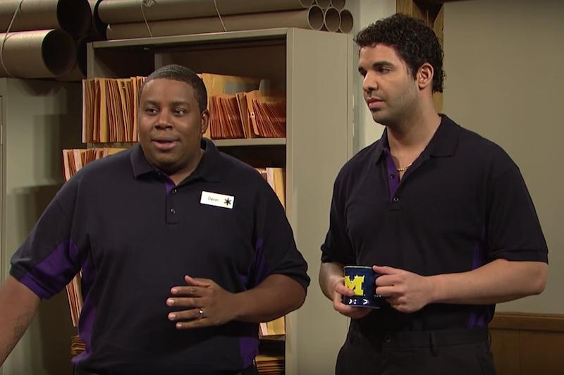 Drake's SNL skit
