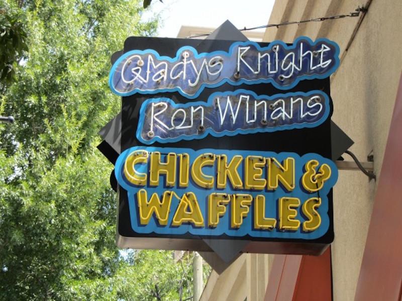 Gladys Knight Chicken Waffles 2