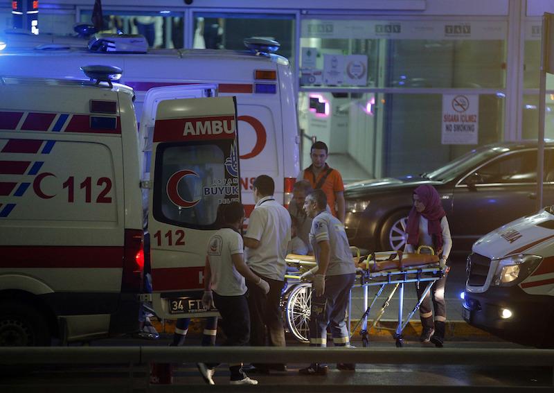 Turkey Airport Blasts