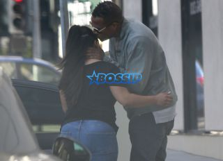 Exclusive Marlon Wayans getting dropped off by a mystery woman in Beverly Hills, California June 6, 2016. kissing goodbye. FameFlynet