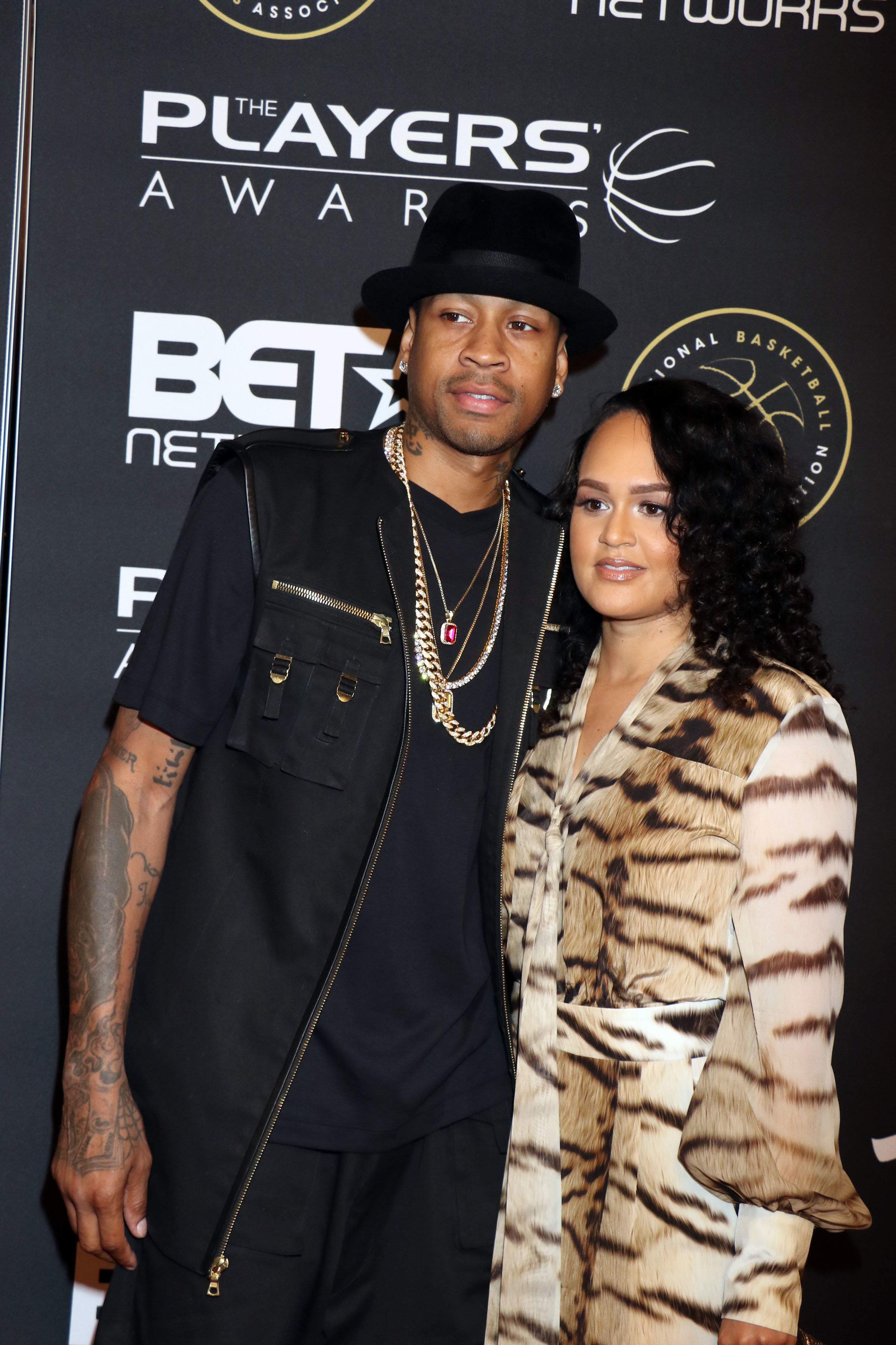 The Players Awards held at the Penn & Teller Theater at the Rio Las Vegas Hotel & Casino in Las Vegas Featuring: Allen Iverson, Tawanna Iverson Where: Las Vegas, Nevada, United States When: 19 Jul 2015 Credit: DJDM/WENN.com