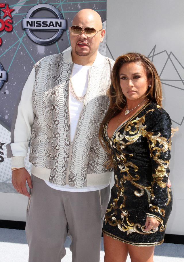 2016 BET Awards Arrivals held at at the Microsoft Theater Featuring: Fat Joe, Lorena Cartagena Where: Los Angeles, California, United States When: 27 Jun 2016 Credit: Adriana M. Barraza/WENN.com