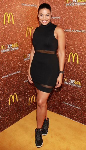 Actress and Recording Artist Jordin Sparks attends the 13th Annual McDonald's 365 Black Awards at the Ernest Moral Convention Center in New Orleans, LA on Friday, July 1, 2016.