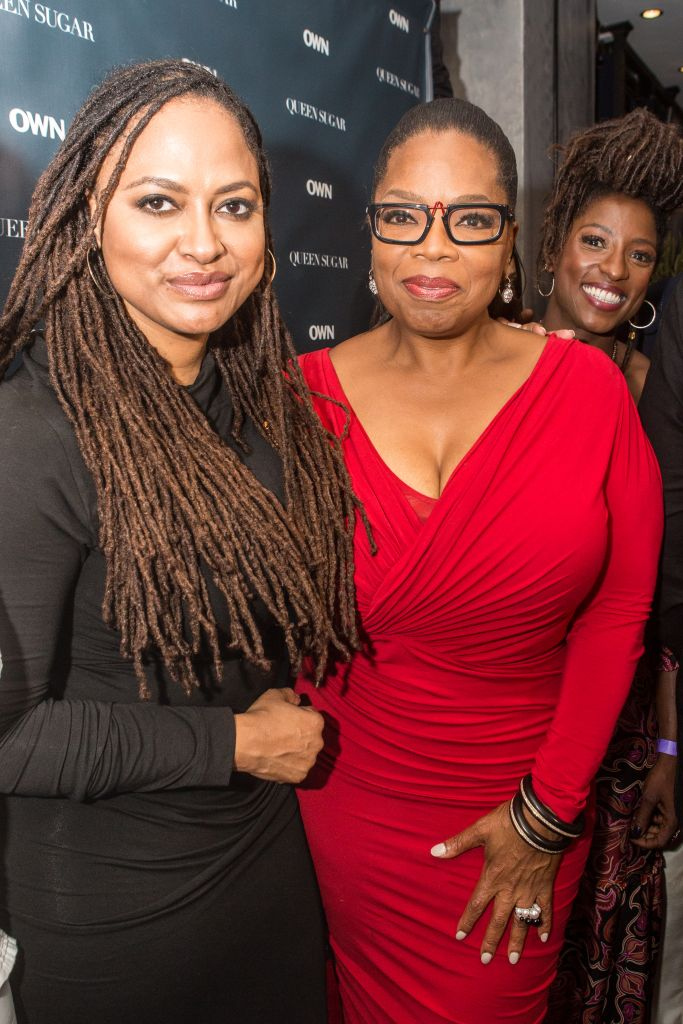 """NEW ORLEANS, LA - JULY 02: (L-R) Ava DuVernay, Oprah Winfrey and Ava DuVernay attend a cocktail reception for """"Queen Sugar"""" at Liberty Kitchen on July 2, 2016 in New Orleans, Louisiana. (Photo by Josh Brasted/Getty Images for OWN: Oprah Winfrey Network) *** Local Caption *** Oprah Winfrey; Ava DuVernay; Rutina Wesley"""