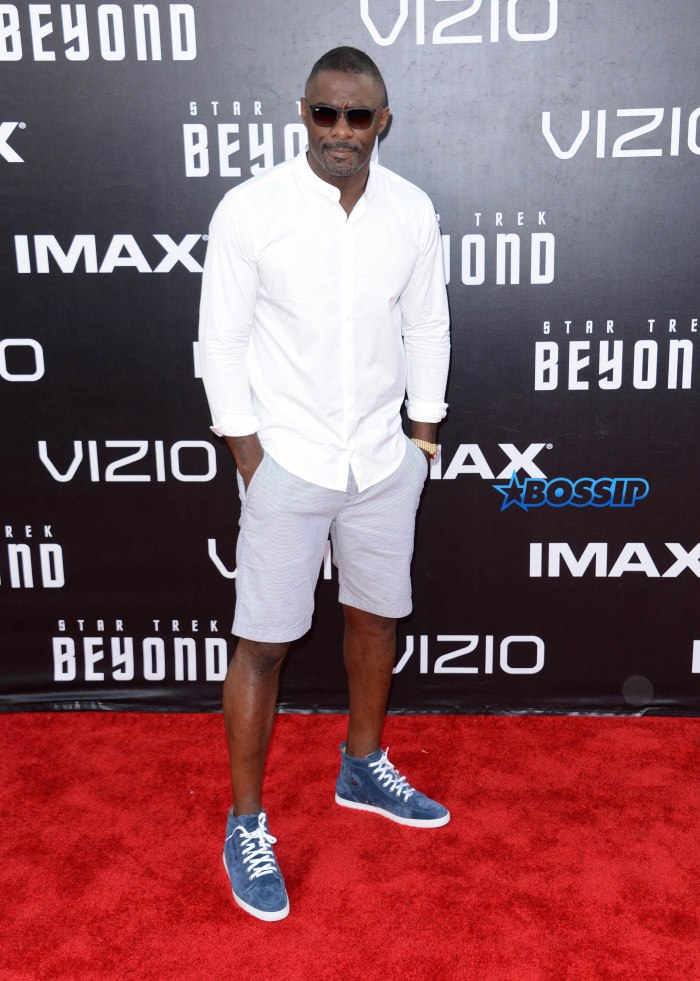 ** RESTRICTIONS: ONLY UNITED STATES, AUSTRALIA, NEW ZEALAND ** San Diego, CA - San Diego, CA - Idris Elba at the premiere of Paramount Pictures' 'Star Trek Beyond' at Embarcadero Marina Park South in San Diego, California AKM-GSI 20 JULY 2016 To License These Photos, Please Contact : Maria Buda (917) 242-1505 mbuda@akmgsi.com or Mark Satter (317) 691-9592 msatter@akmgsi.com sales@akmgsi.com