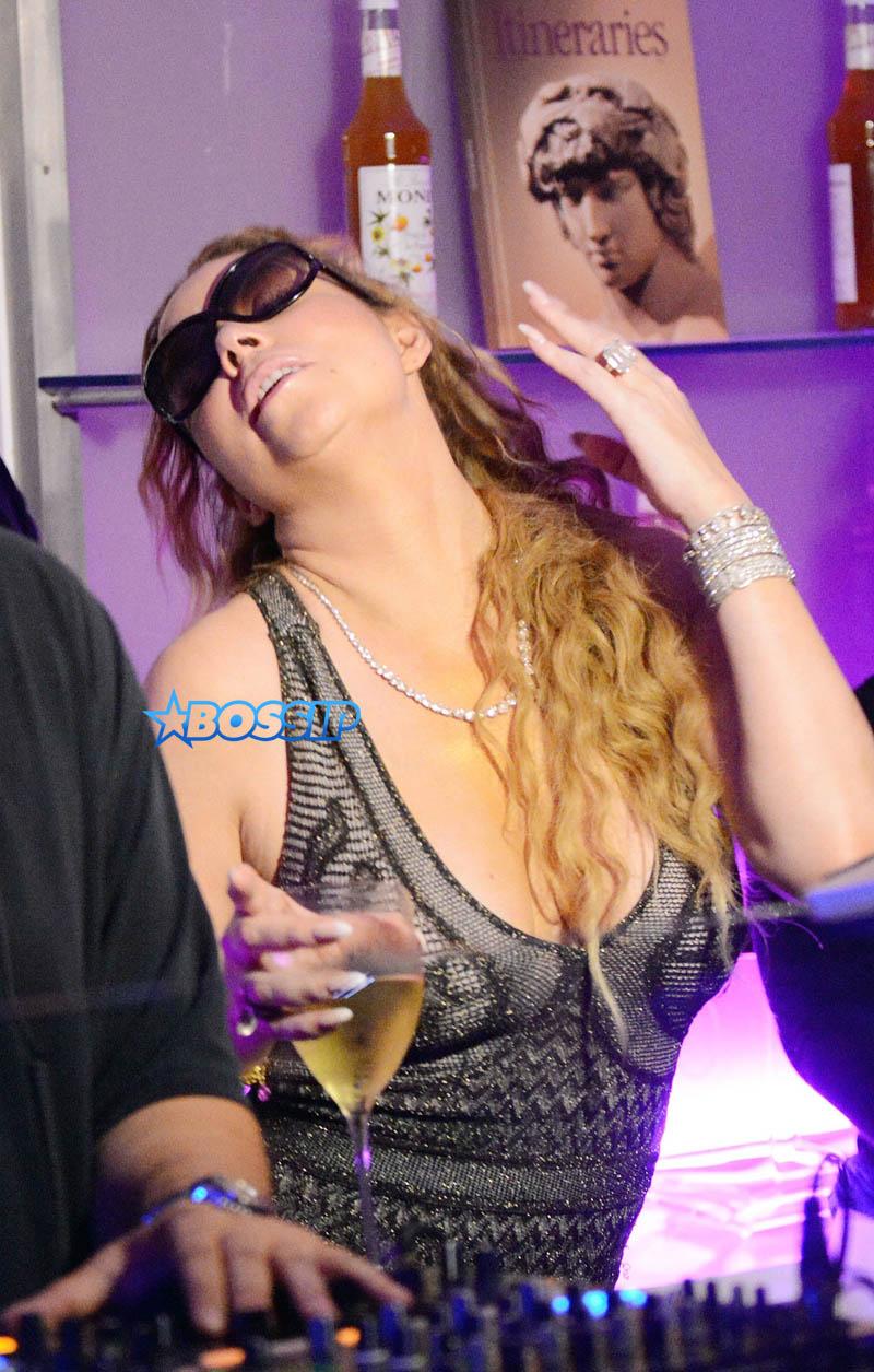 Capri, Italy Mariah Carey billionaire fiancee James Packer party club AKM-GSI 25 JULY 2016