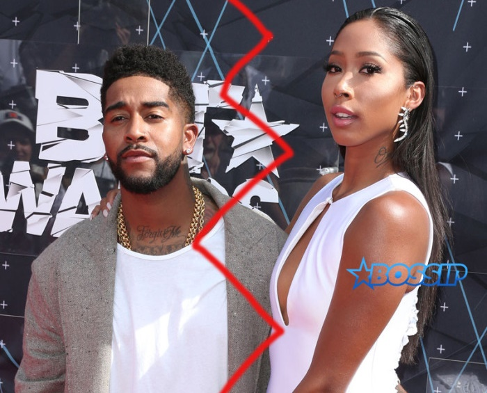 2015 BET Awards Featuring: Omarion, Apryl Jones Where: Los Angeles, California, United States When: 28 Jun 2015 Credit: FayesVision/WENN.com