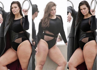 Ashley Graham thighs Instagram