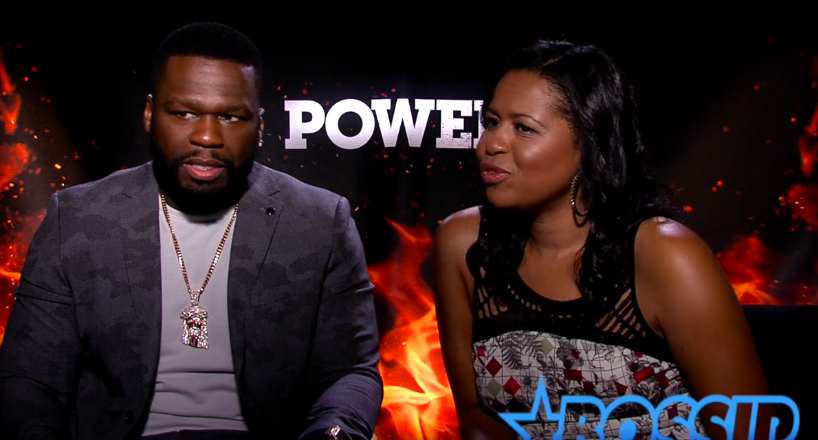 50 cent and power and courtney kemp