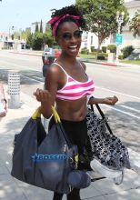 WENN Shanola Hampton Shameless black actress dreadlocks V