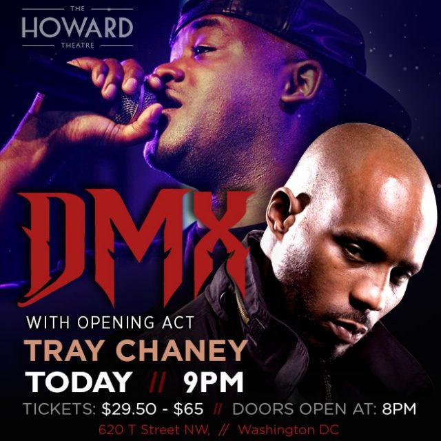 tray chaney dmx