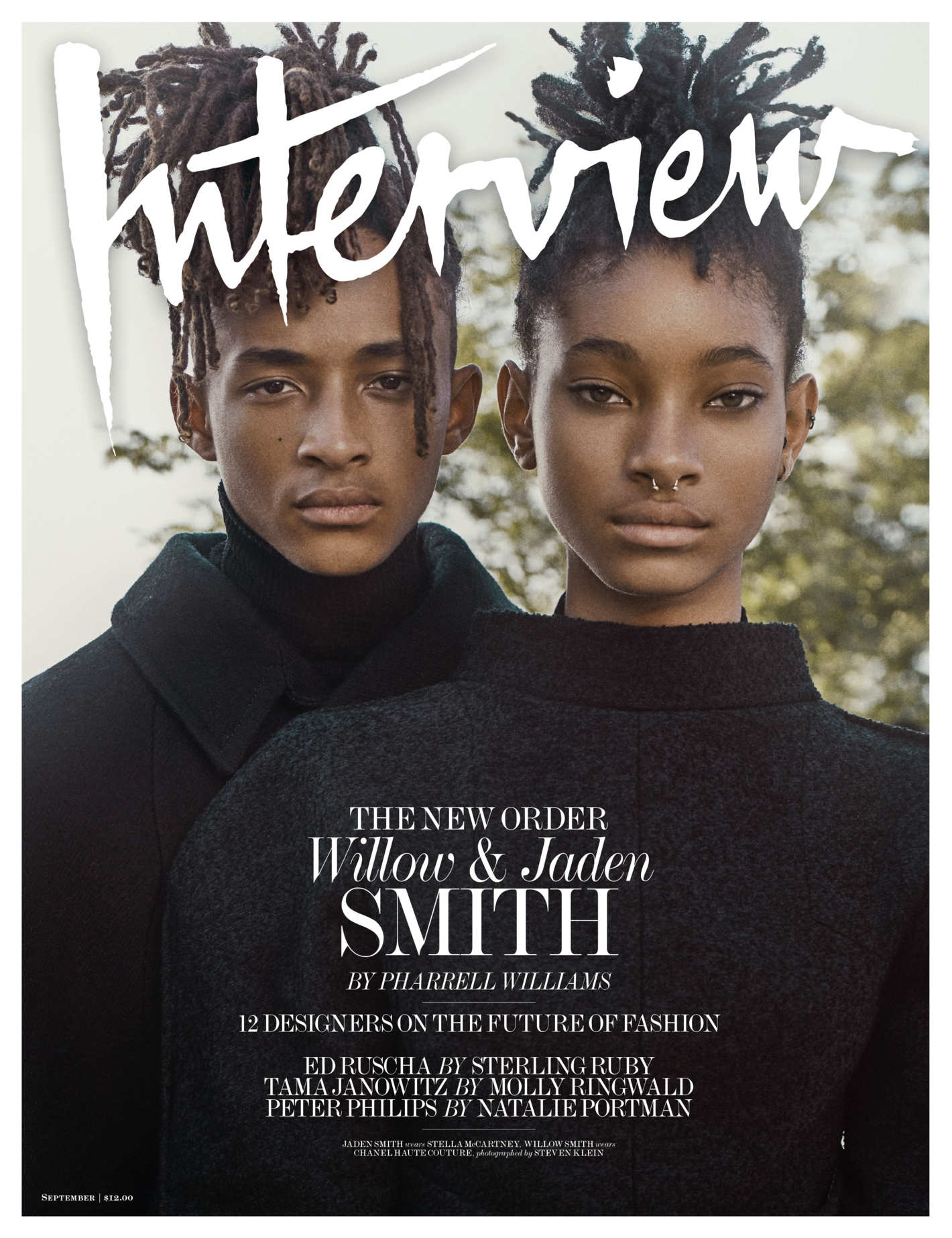 Jaden Willow Smith Steven Klein Interview Magazine