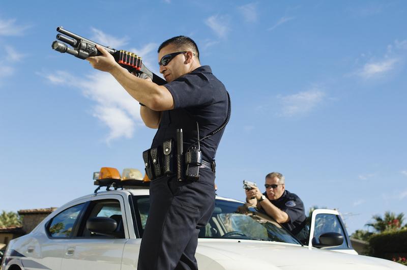 cops shooting
