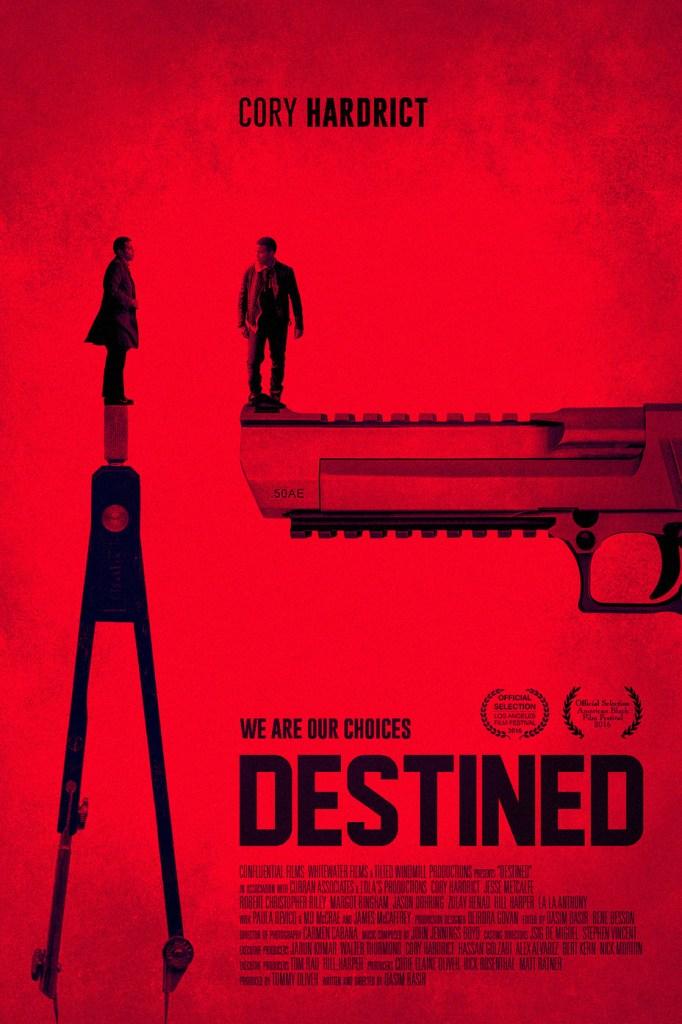 cory hardrict destined film poster