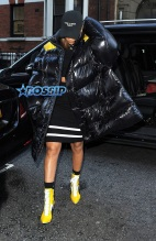 Rihanna Out Shopping In London