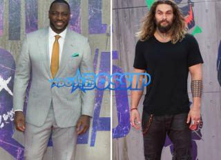 Actors Adewale Akinnuoye-Agbaje and Jason Mamoa attend Suicide Kings European Premier