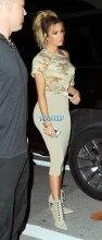 Khloe Kardashian Jonathan Cheban dinnerKim and Kanye at Prime 112 in Miami Beach, FL SplashNews