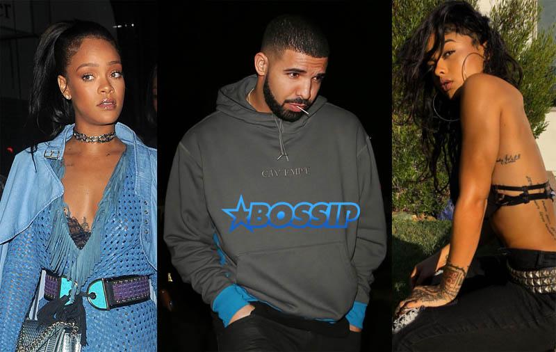 SplashNews Instagram Rihanna Drake India Love