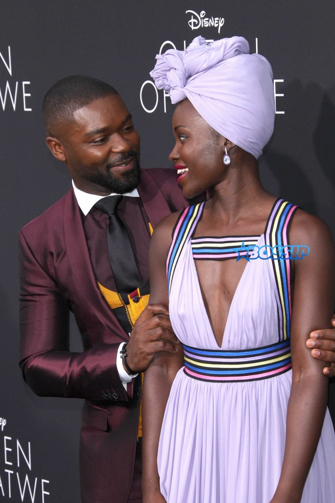 "U.S. ""Premiere Of Queen Of Katwe"" In Hollywood Pictured: Lupita Nyong'o, David Oyelowo Ref: SPL1359505 200916 Picture by: Jen Lowery / Splash News Splash News and Pictures Los Angeles:310-821-2666 New York:212-619-2666 London:870-934-2666 photodesk@splashnews.com"