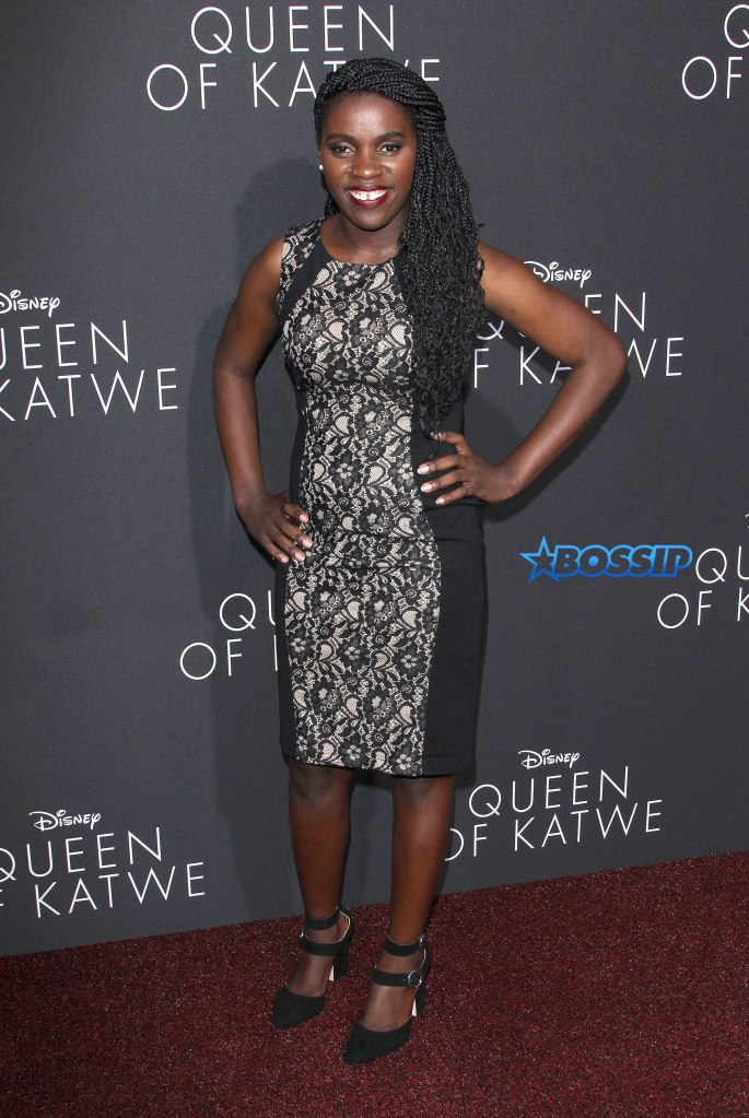 "U.S. ""Premiere Of Queen Of Katwe"" In Hollywood Pictured: Phiona Mutesi Ref: SPL1359505 200916 Picture by: Jen Lowery / Splash News Splash News and Pictures Los Angeles:310-821-2666 New York:212-619-2666 London:870-934-2666 photodesk@splashnews.com"