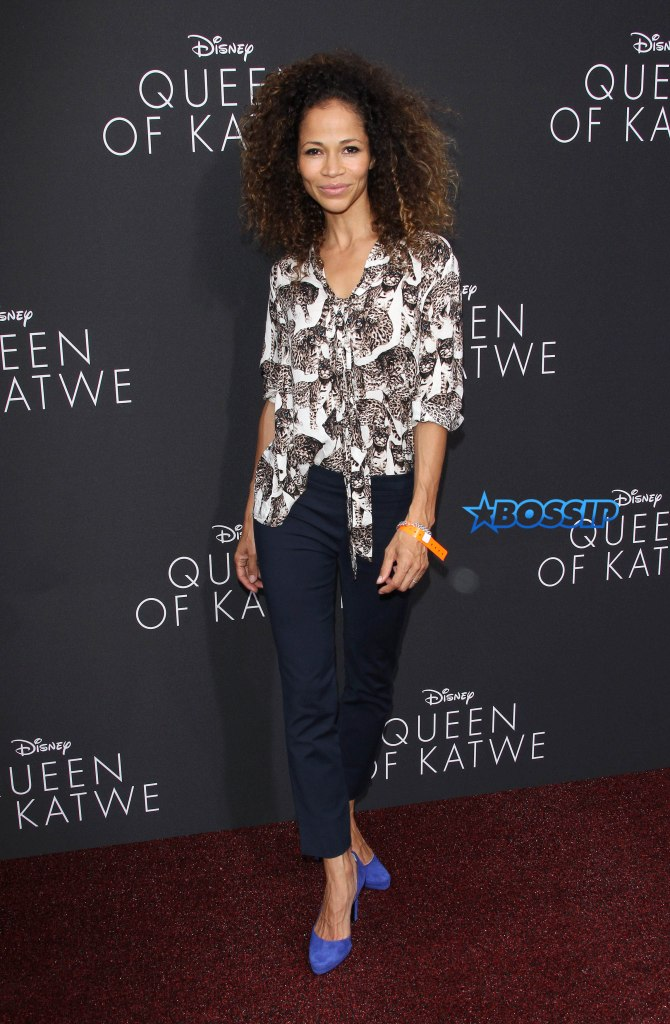 "U.S. ""Premiere Of Queen Of Katwe"" In Hollywood Pictured: Sherri Saum Ref: SPL1359505 200916 Picture by: Jen Lowery / Splash News Splash News and Pictures Los Angeles:310-821-2666 New York:212-619-2666 London:870-934-2666 photodesk@splashnews.com"