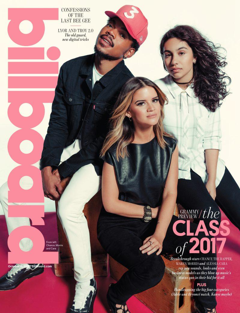 Chance the Rapper Maren Morris Alessia Cara Billboard Magazine