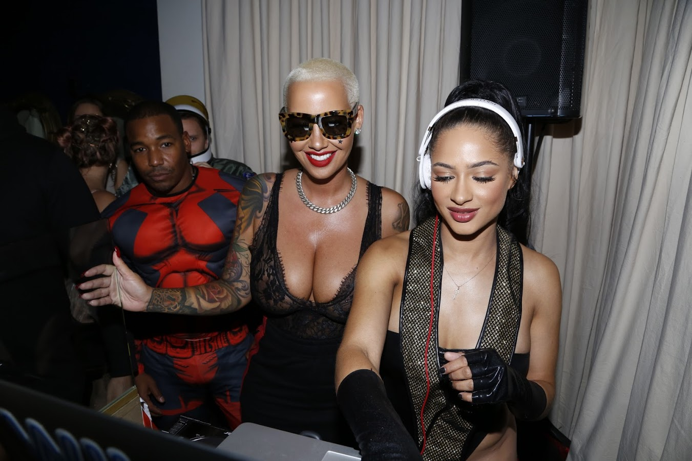 Tori Brixx Amber Rose Shore Bar in Santa Monica, California. (Photo by @ArnoldShoots)