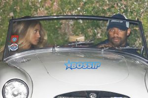 Russell Wilson Ciara date night Cecconi's. 1959 MG MGA Roadster fails to start. AKM-GSI 7 OCTOBER 2016