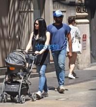 Donald Glover stroll New York girlfriend and baby. AKM-GSI 20 MAY 2016