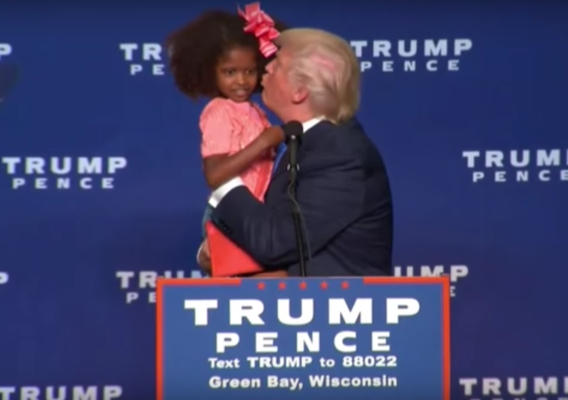 donald-trump-kisses-lil-black-girl