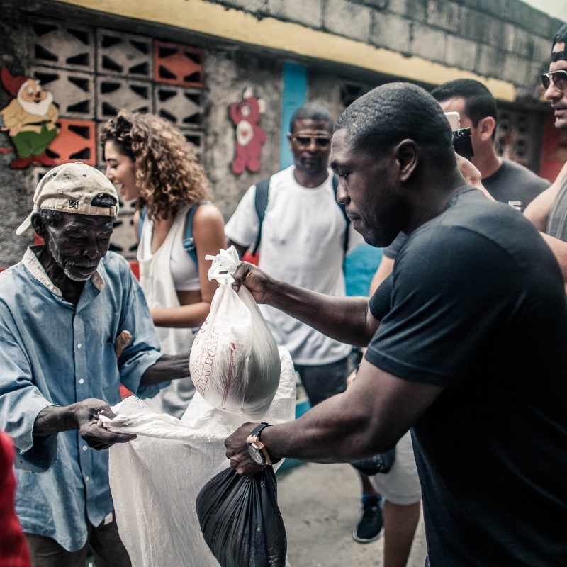 Andre Berto Hurricane Matthew Haiti